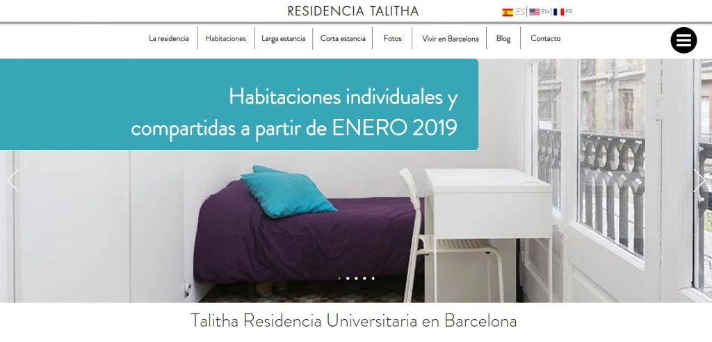 Talitha Student Residence in Barcelona